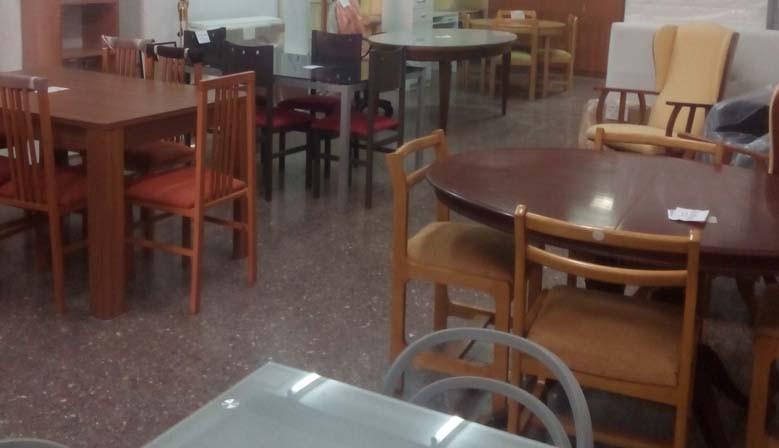 Venta de mesas y muebles de ocasión en Valencia
